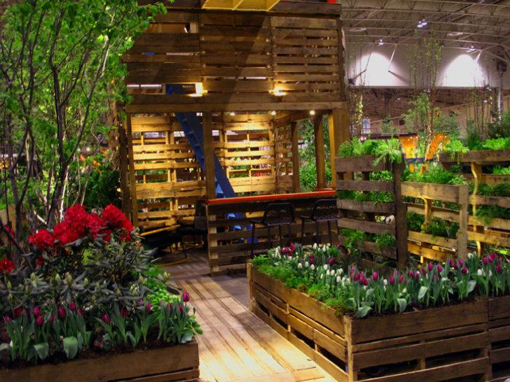 pallet gardening saves you money
