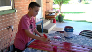 Brigham City's 11 Year Old Entrepreneur Helps His Scout Troop