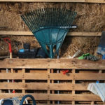 Wooden Pallets Help Organize Your Storage Space