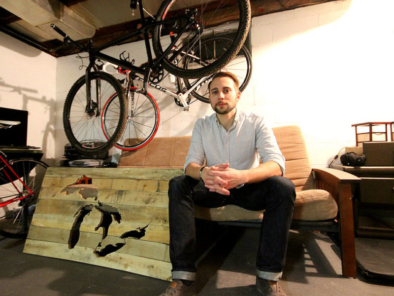Michigan Artist Turns Scrap Pallets Into Works of Art